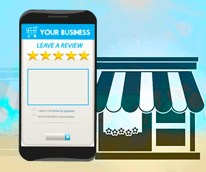 Your business - Leave a review