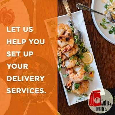 Let us help you set up your delivery services.